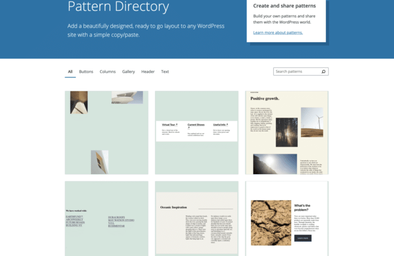 Screen-Shot-2021-04-28-at-3.03.14-PM-770x500 Pattern Directory Targeted to Launch with WordPress 5.8 design tips