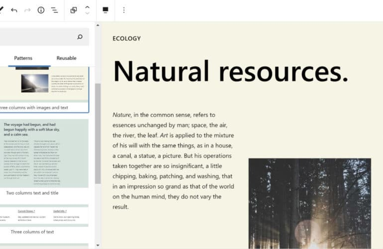 gutenberg-10.5-featured-770x500 Gutenberg 10.5 Embeds PDFs, Adds Verse Block Color Options, and Introduces New Patterns design tips