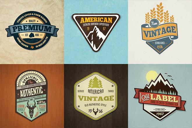 vintage-icon-packs-badges 20+ Best Vintage Icon Packs, Badges & Insignias (Free & Premium) design tips