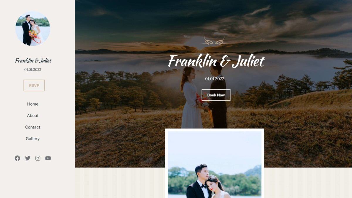 wedding-featured Recreating the Classic Wedding WordPress Theme Homepage With the Block Editor design tips