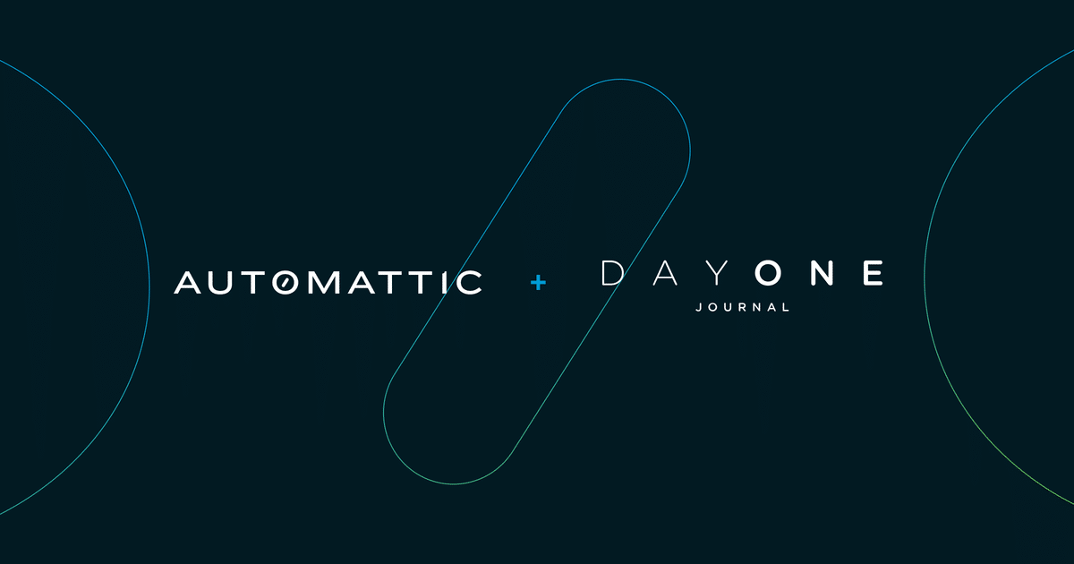 a8c-dayone-post-1 Day One, the Journaling App, Joins Automattic WordPress