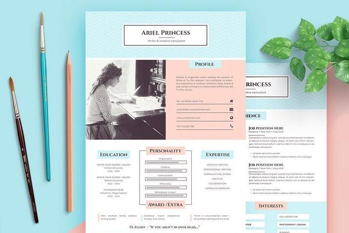 best-pages-resume-cv-templates 35+ Best Pages Resume & CV Templates 2021 design tips