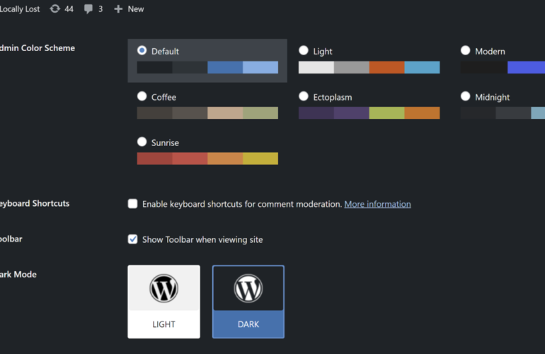 dm2-profile-770x500 Original Dark Mode Developer Relaunches Plugin After the Apparent 'Cash Grab' of the New Owners design tips