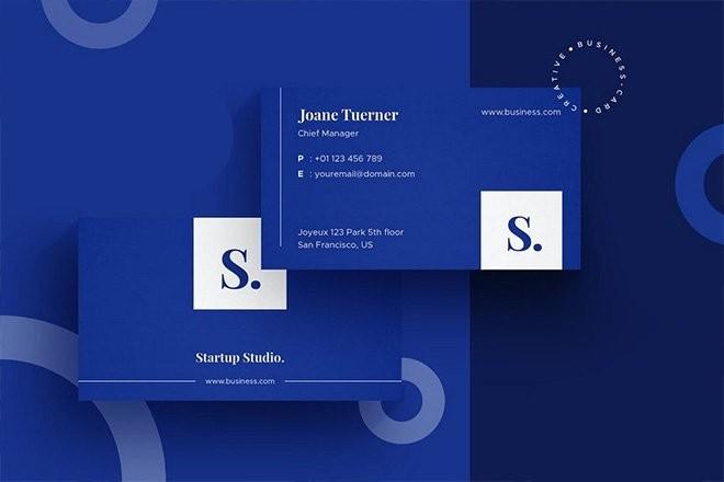 minimal-business-card-design-templates 25+ Minimal Business Card Design Templates for 2021 design tips