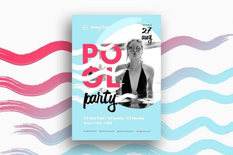 party-club-flyer-templates 25+ Best Club Flyer Templates design tips