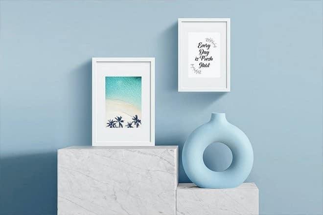 poster-photo-frame-mockup 25+ Best Poster & Photo Frame Mockup Templates design tips