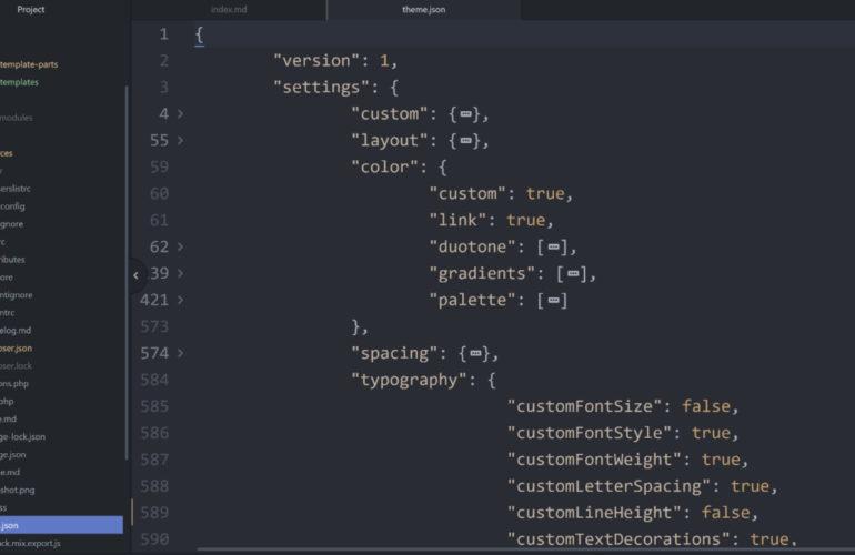theme-json-770x500 FSE Outreach Round #8: A Developer-Centric Call for Testing Theme JSON Configuration design tips