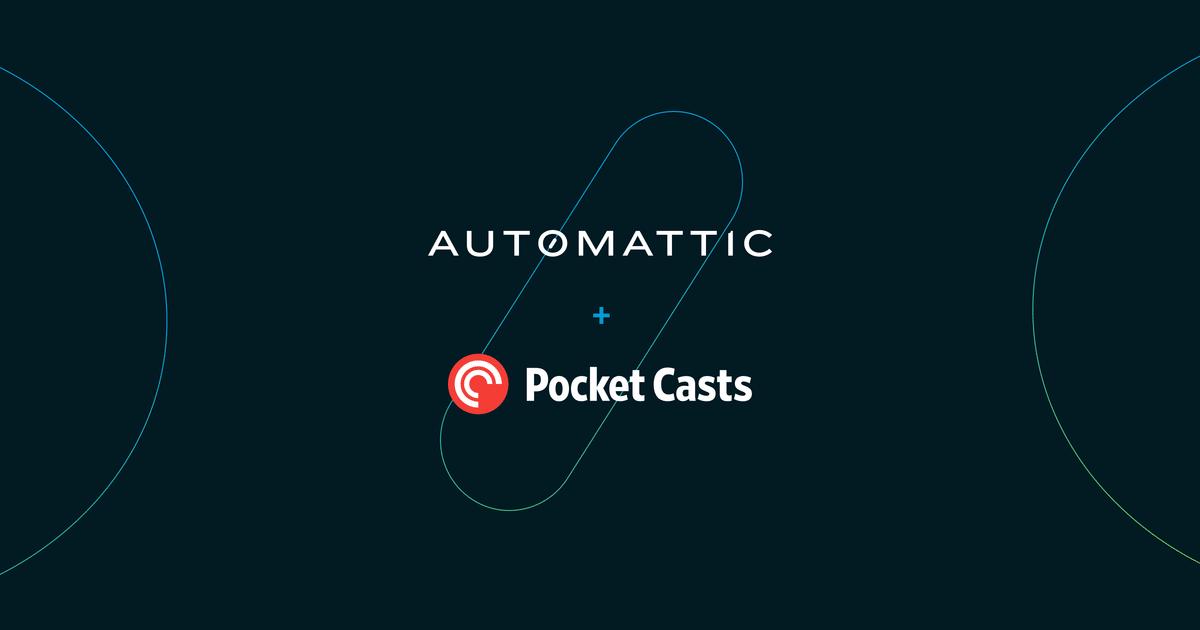 a8c-pocket-casts-post-new Popular Podcast App Pocket Casts Joins Automattic WordPress