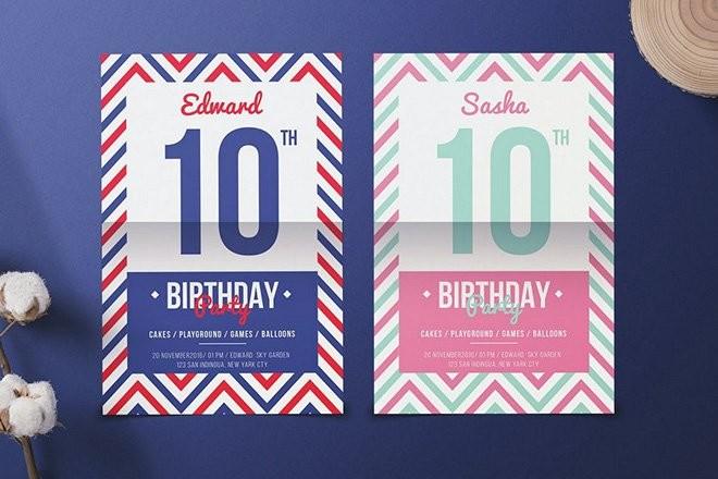 birthday-christmas-flyer-template 25+ Best Christmas & Birthday Party Flyer Templates design tips