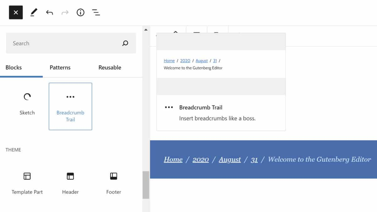 breadcrumbs-featured Taking the Leap: Building My First WordPress Block Plugin design tips