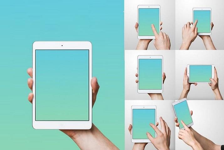 ipad-mockup-templates 50+ iPad Mockup PSD & PNG Templates design tips