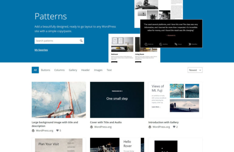 pattern-directory-featured-770x500 The WordPress.org Block Pattern Directory Is Now Live design tips
