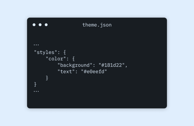 themejson-1-770x500 Configuring Theme Design with theme.json WPDev News