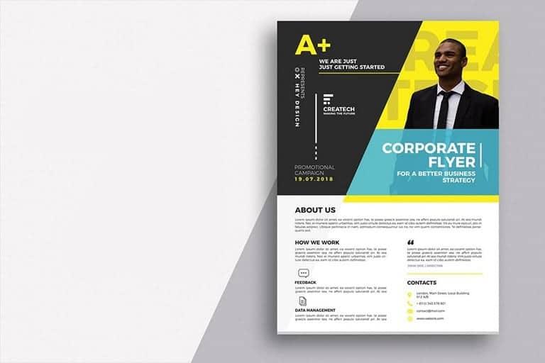 business-flyer-templates 40+ Business Flyer Templates (Word & PSD) design tips