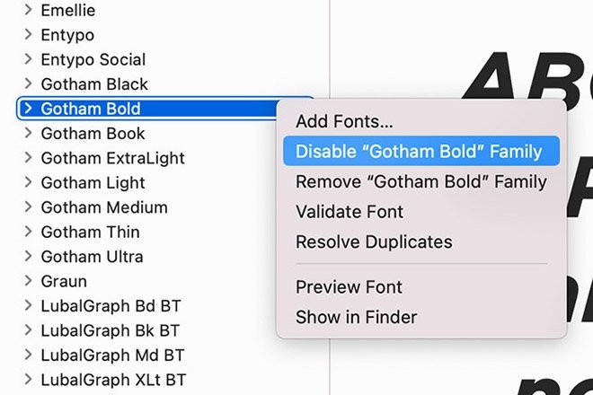 disable-fonts-1 How to Uninstall Fonts on Windows & Mac design tips