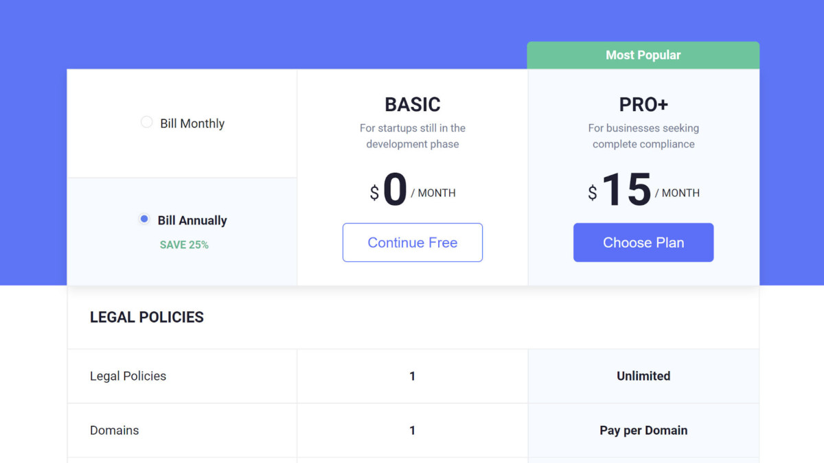 termly-consent-pricing Termly Acquires GDPR/CCPA Cookie Consent Banner, Turns Free Plugin Into a Commercial SaaS Product design tips