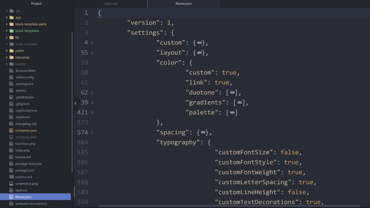 theme-json-1 Open Survey for WordPress Theme Authors on JSON Files and Block Themes design tips