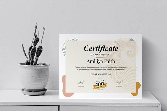 certificate-templates 20+ Event Participation & Training Certificate Templates 2021 design tips